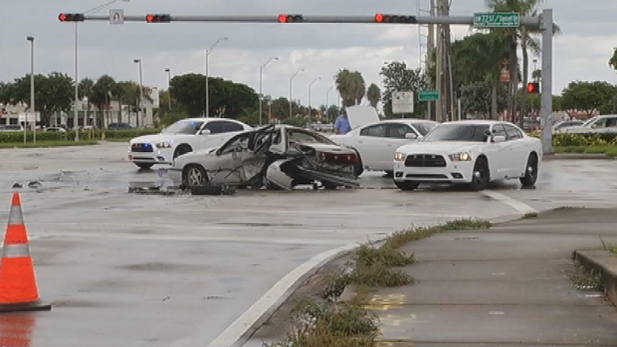 Car Accidents In Miami Dade Today